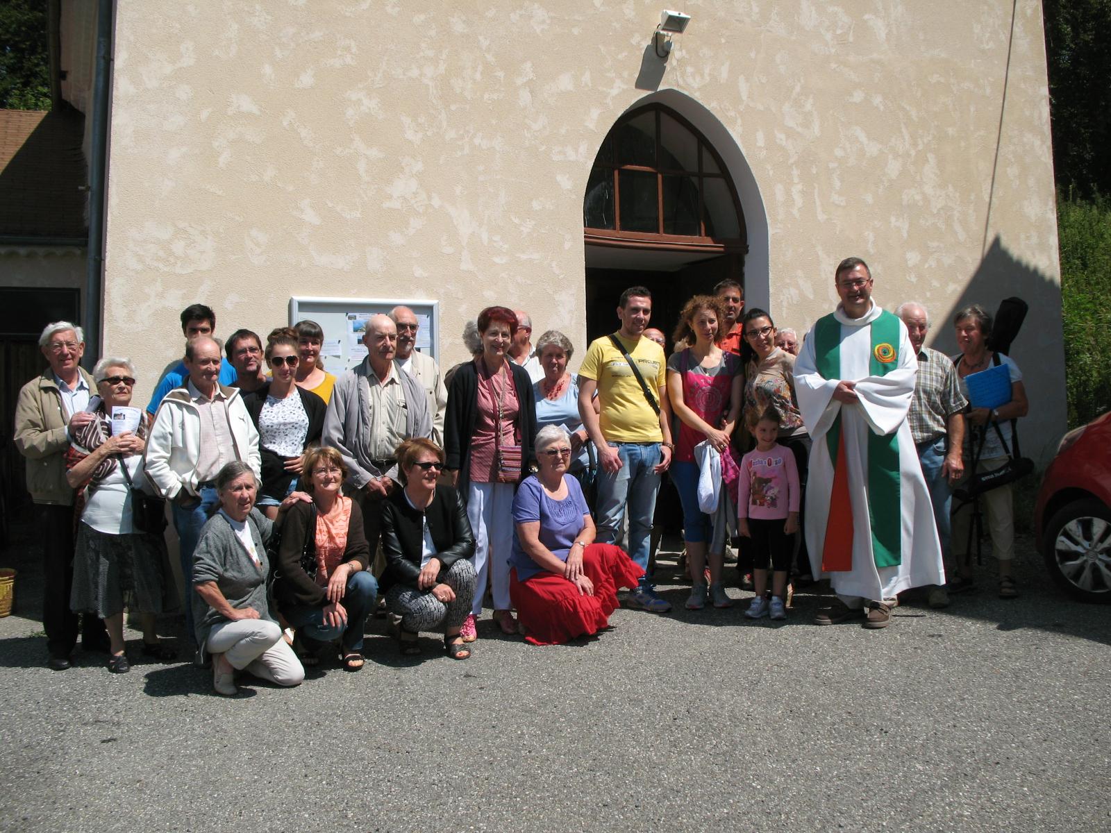 La Fête de la Sainte Marie-Madeleine à Chauvet