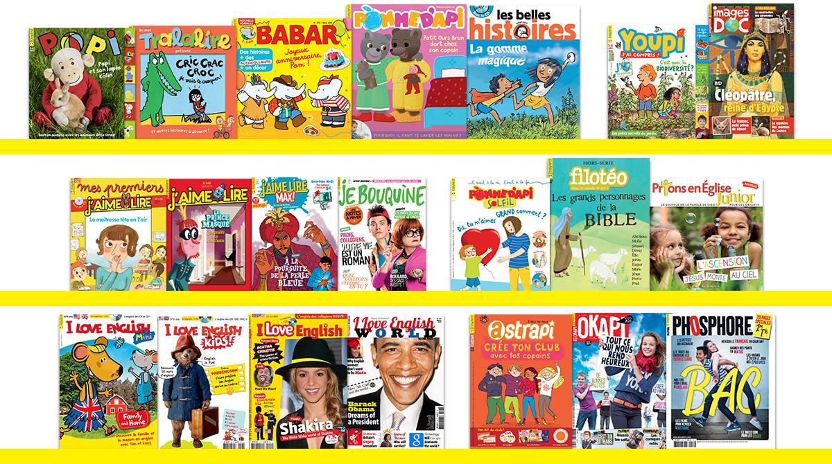 Offrez un abonnement à un magazine de la presse chrétienne