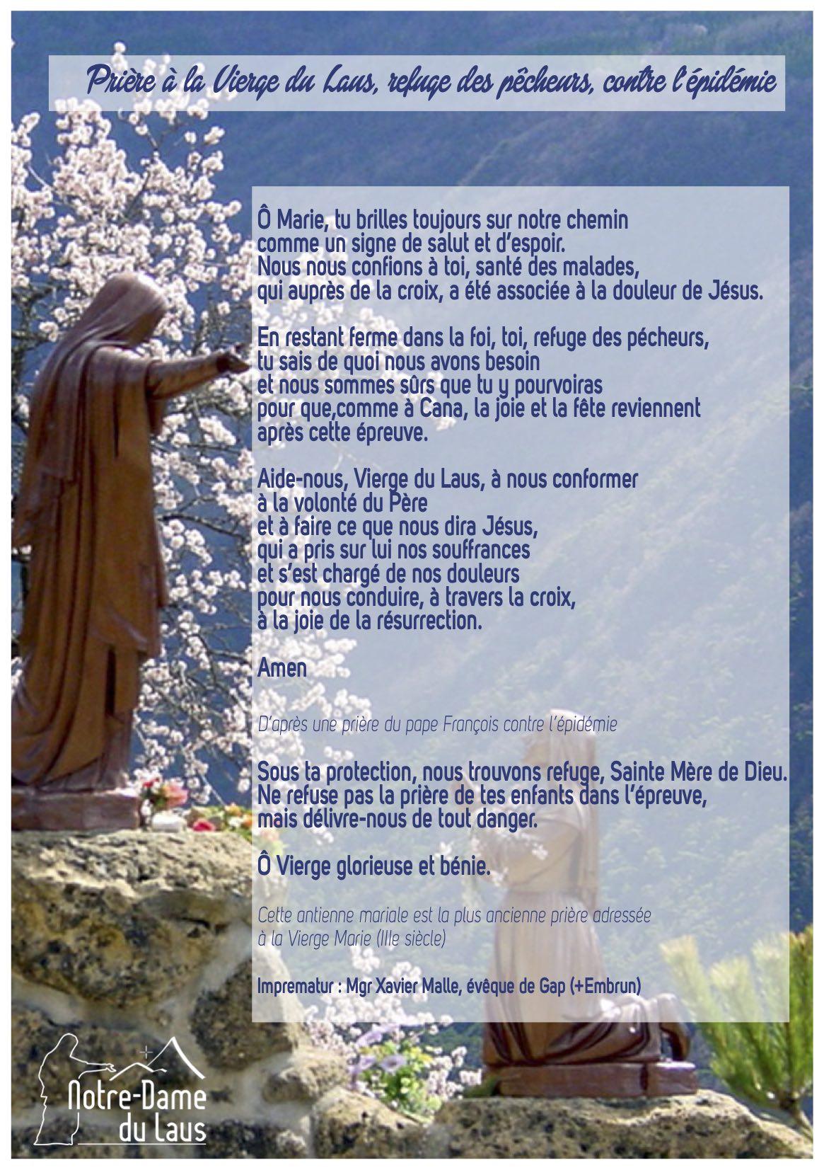 Communion de désir et prière pendant le confinement