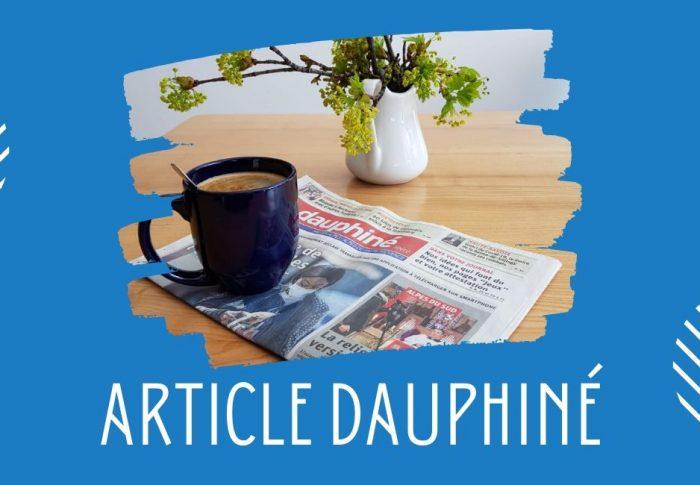 Article Dauphiné sur la Semaine Sainte