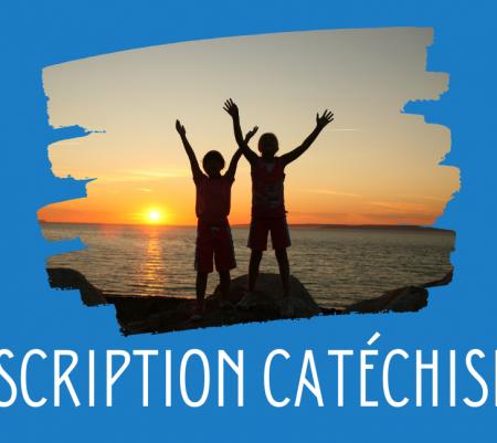 Inscriptions au catéchisme