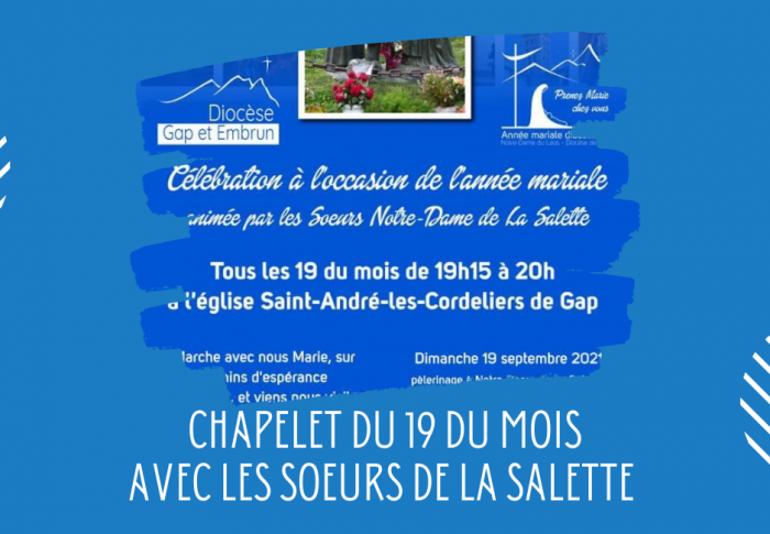Chapelet en mémoire des apparitions de Marie à La Salette